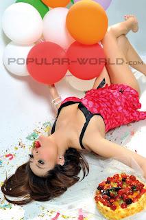 Cinta Nansya for Popular World Magazine, May 2012 (Part 1)