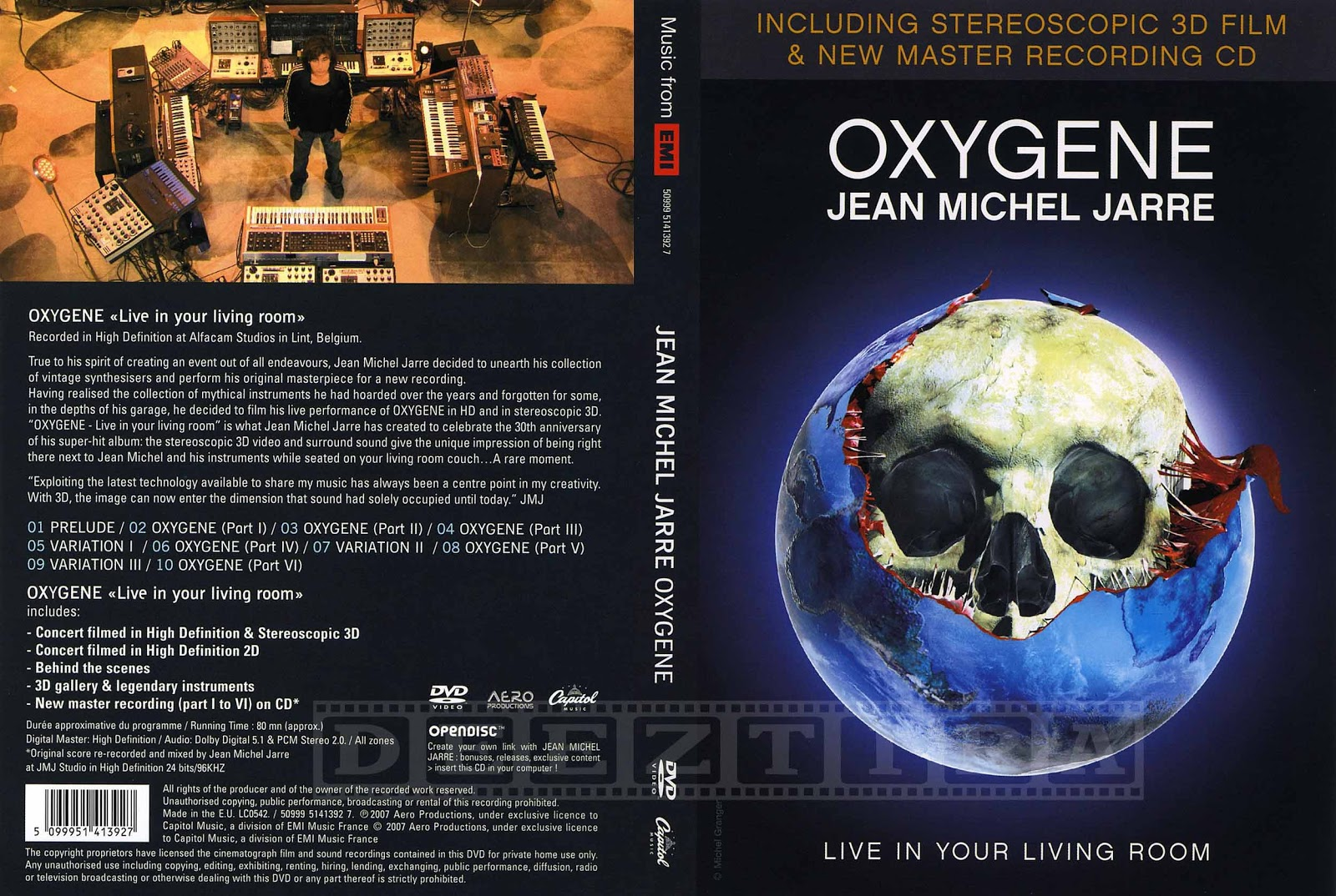 Youdiscoll Jean Michel Jarre Oxygene Live In Your Living Room 2007