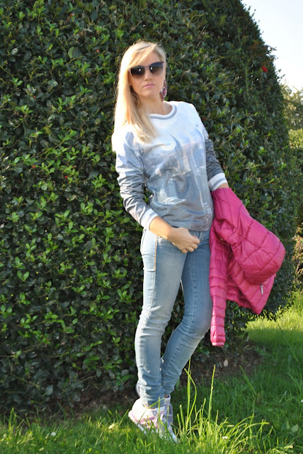 outfit casual outfit casual autunnale outfit autunnale outfit novembre 2015 casual outfit outfit jeans e scarpe da tennis outfit jeans e sneakers come abbinare jeans e scarpe da tennis jeans and sneakers how to wear jeans and sneakers how to combine jeans and sneakers mariafelicia magno fashion blogger color block by felym fashion blogger italiane fashion blogger bergamo fashion blogger milano blog di moda blogger bionde blonde hair blonde girls blondie fall outfit