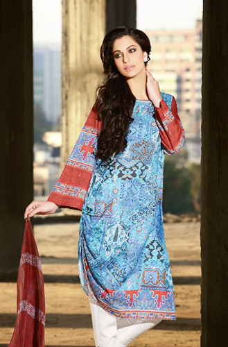 Cross Stitch Lawn Collection 2014