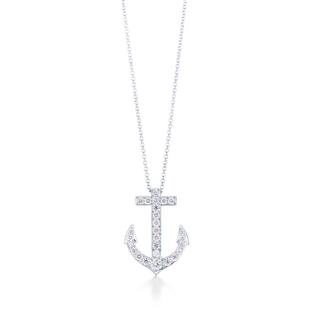 Tiffany Anchor Necklace3