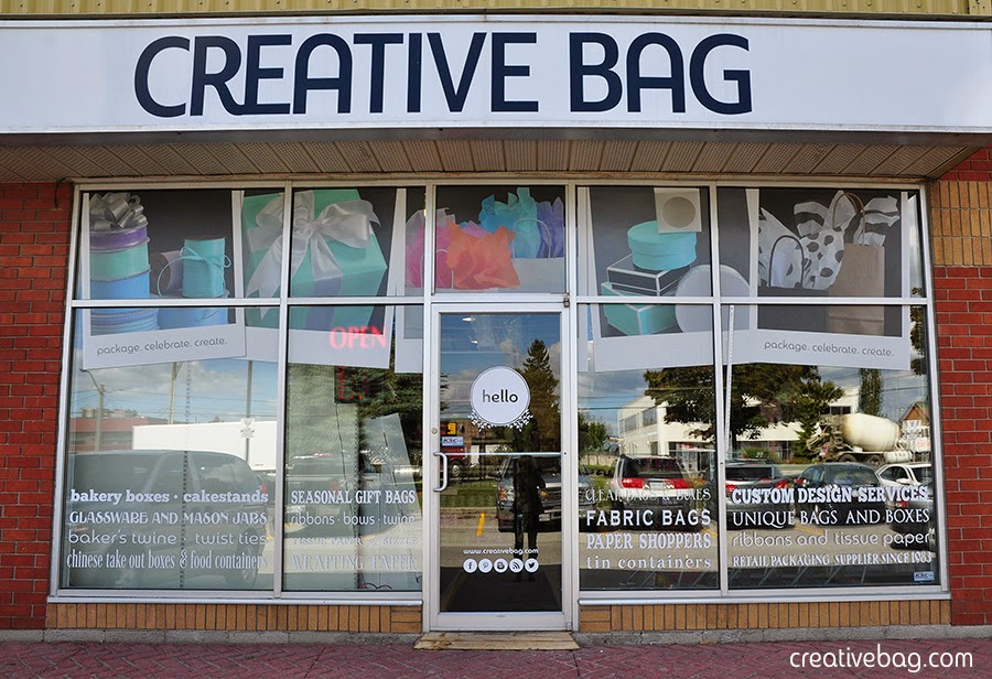 hello and welcome to Creative Bag Pickering | creativebag.com