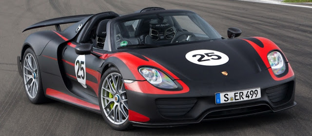 Porsche 918 Spyder: Full Performance Specs and Official Photos