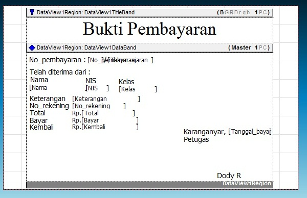 Membuat Kuitansi menggunakan Delphi ~ DodySoft