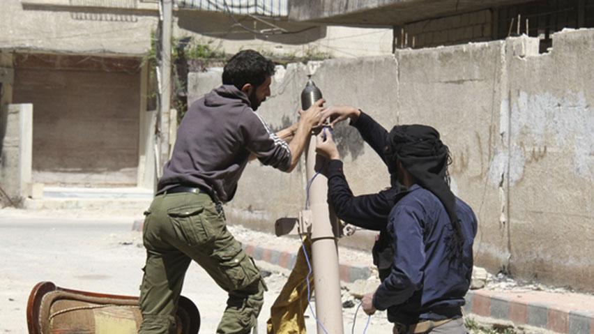 Israel Hilang Sabar Tentera Basyar Assad (Syria) Tembak Mortar