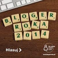 Páči sa vám môj blog? Zahlasujte za mňa!