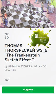 The Frankenstein Sketch Effect Workshop