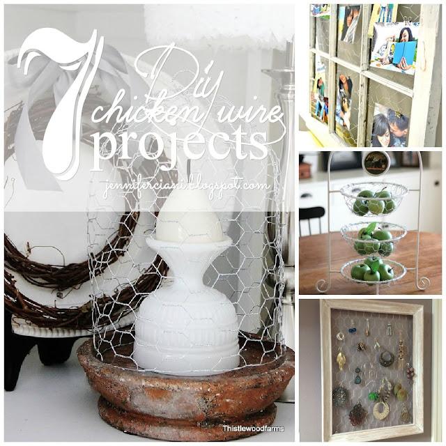 http://jenniferciani.blogspot.it/2013/02/7-diy-chicken-wire-projects.html