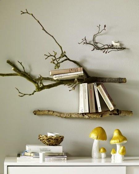 Ide Kreatif Memanfaatkan Ranting Pohon