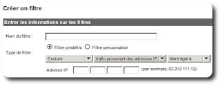 filtre Google Analytics