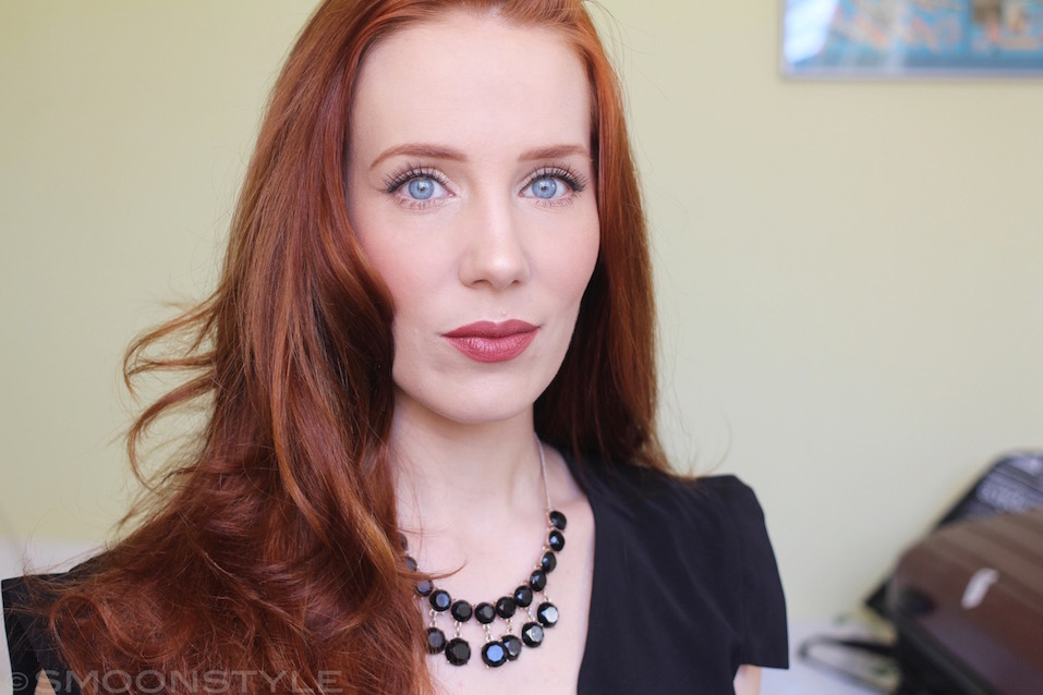 Simone Simons Natural Hair Color