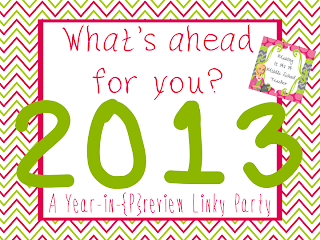 happy new year - a year in preview linky party