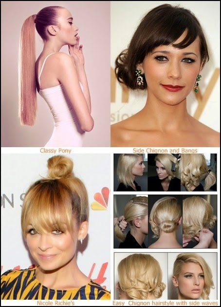 How To Style Short Hair For Work My Hair Style 3 Pretty Easy Updos For Work