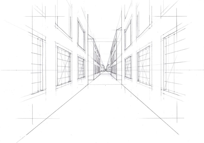 Akire 39 s portfolio ottobre 2012 for Disegni di case in prospettiva