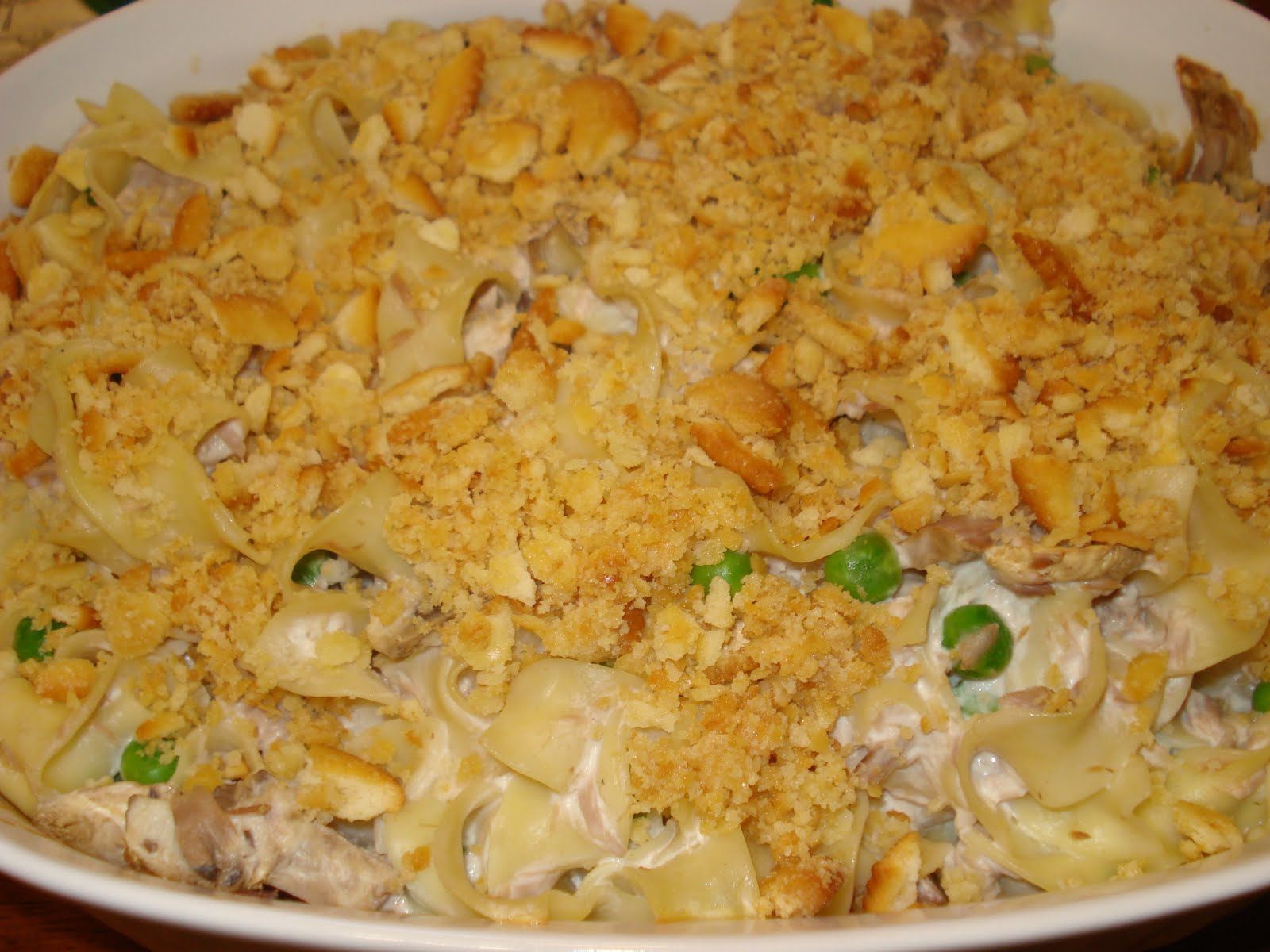 Adventures Of A Wanna Be Country Girl: Creamy Tuna Noodle Casserole