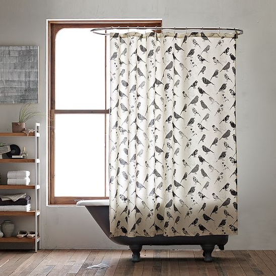 Pierce + Stacy Thiot: Shower Curtain/Window Panel