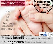 MASAJE INFANTIL. Educadora Certificada por AEMI