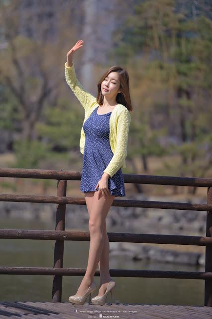 4 Choi Byeol Yee - Lovely Outdoor-very cute asian girl-girlcute4u.blogspot.com