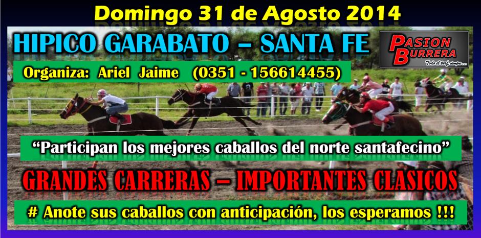 GARABATO - 31 DE AGOSTO