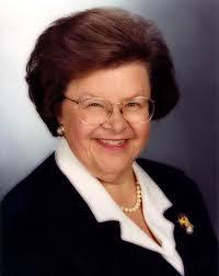 Senator Barbara Mukulski