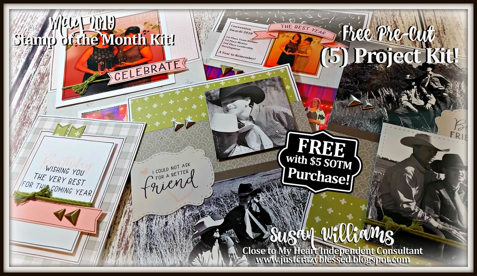 May 2019 Stamp of the Month Workshop!