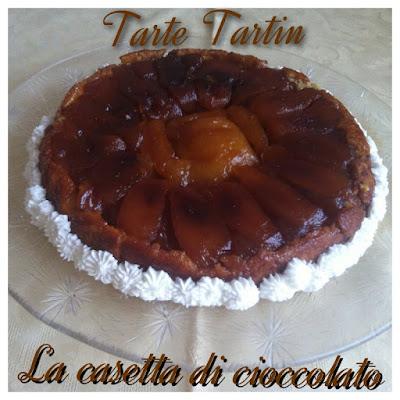 tarte tatin con pata sucreè di pierre hermè