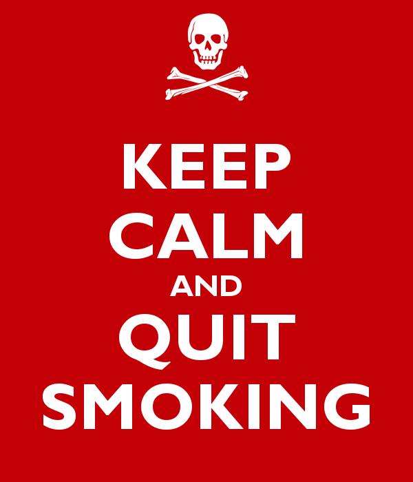 Quit smoking first 3 weeks