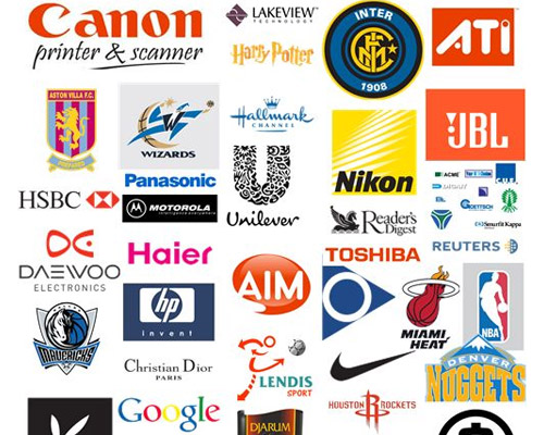 Gallery Logo: Famous Logos