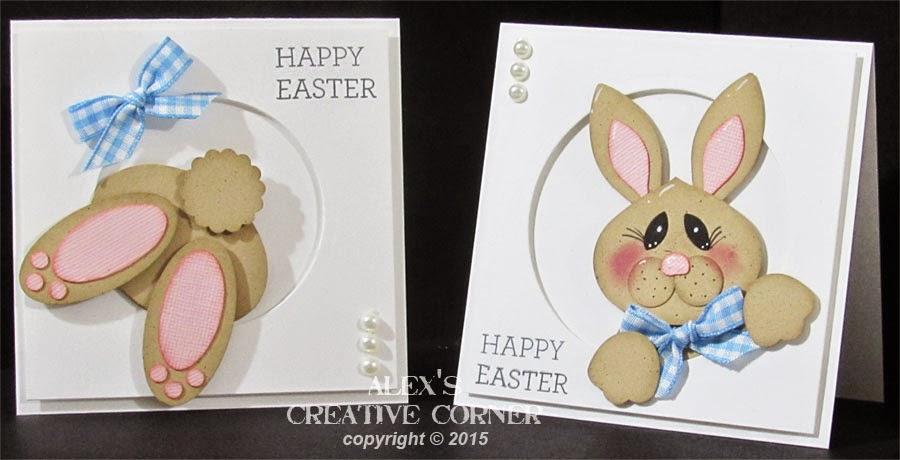 alex s creative corner peek a boo bunny card