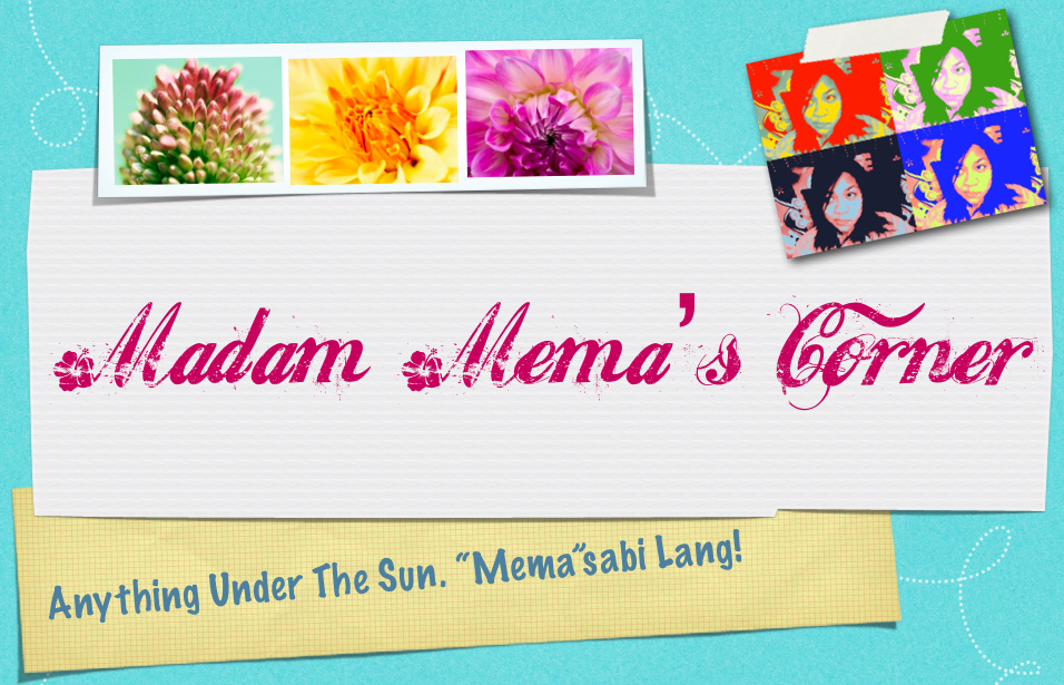 Madam Mema's Corner