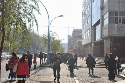 SISMO DE 5,4 GRADOS SACUDE CHINA, 31 DE OCTUBRE 2013