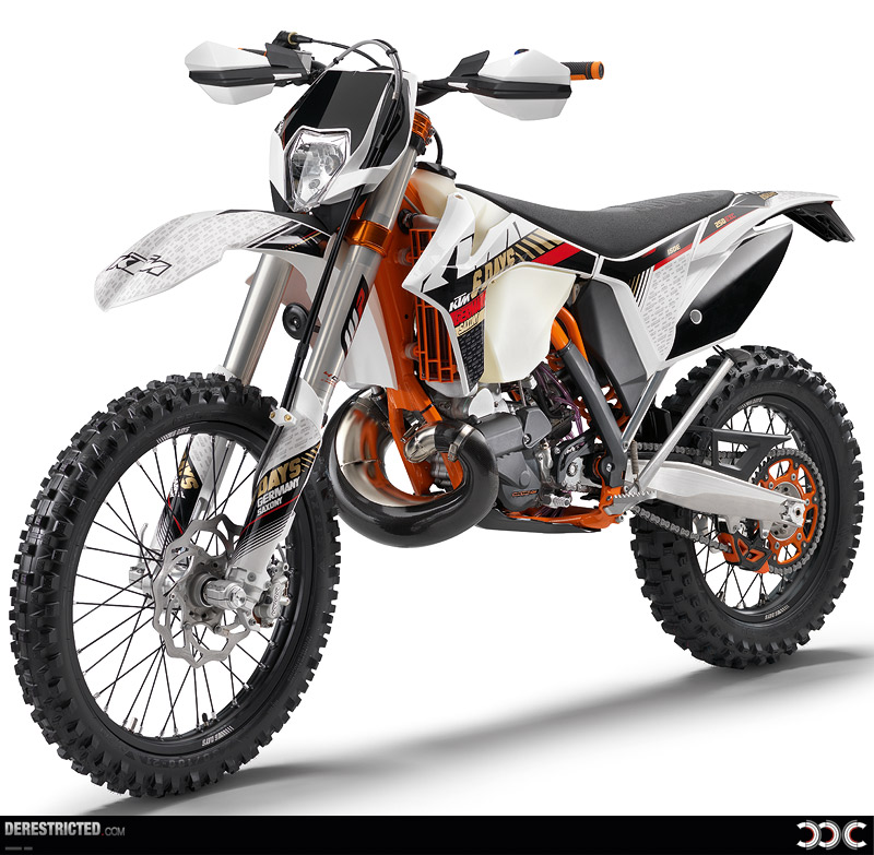 Modification Motorcycle: KTM 2013 350EXC-F Six Days Review