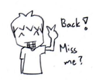 dah kembali semula