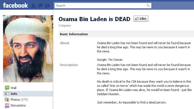 is bin laden dead. Is Osama in Laden really dead