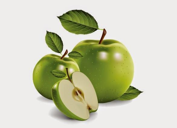 en äpple eller ett äpple
