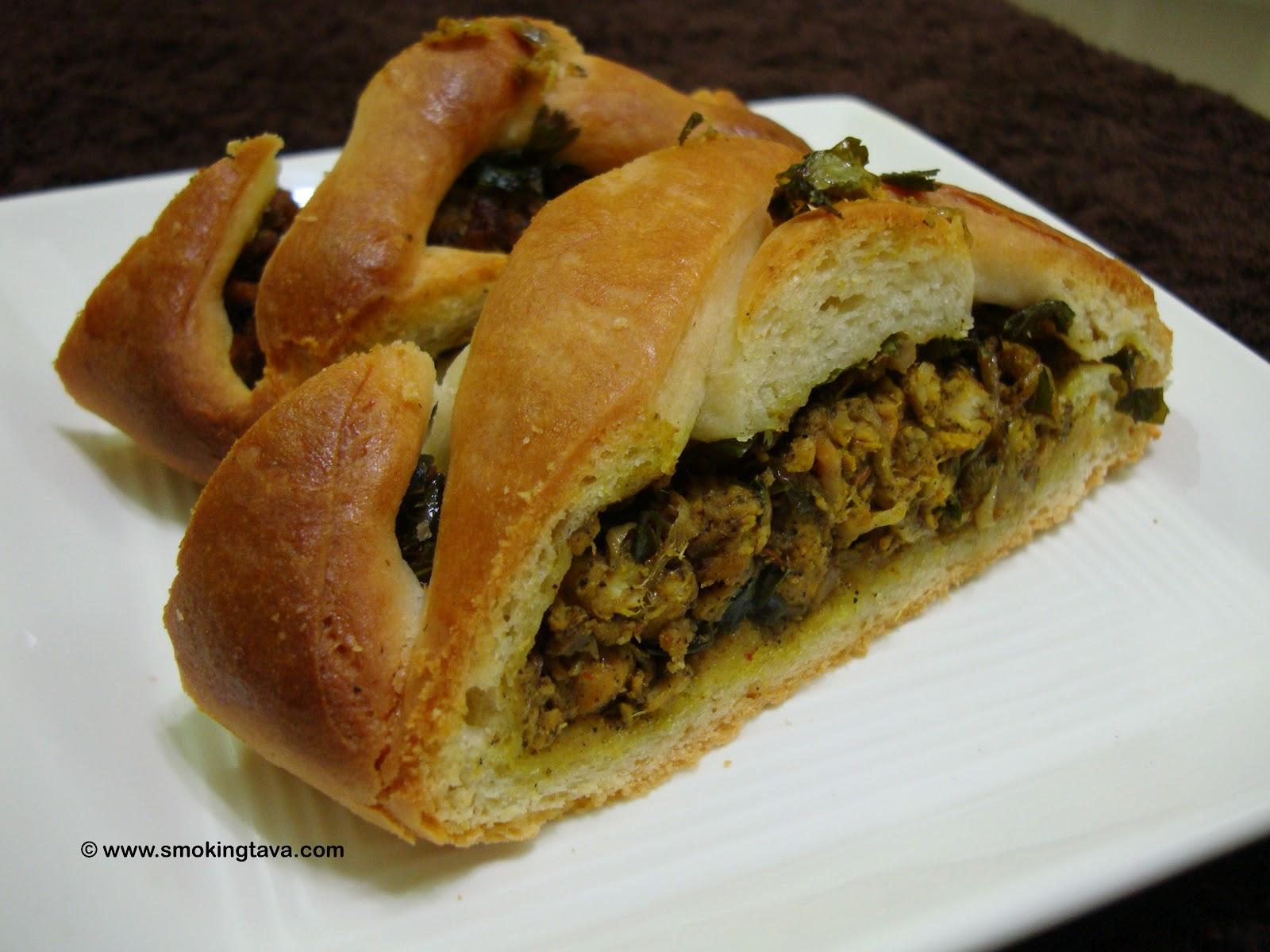 The Smoking Tava: Stuffed Bread