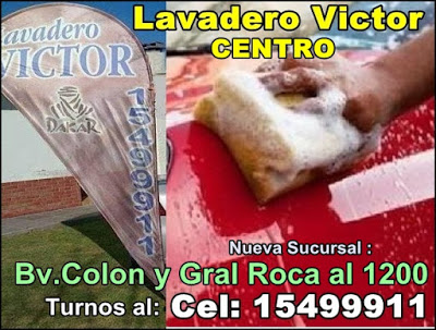 ESPACIO PUBLICITARIO: LAVADERO VICTOR