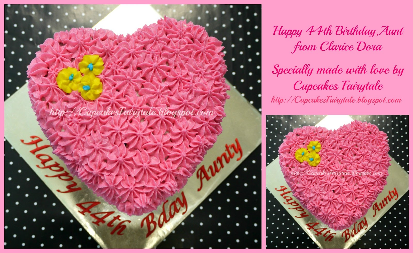 Birthday Cake Images For Aunt : Cupcakes Fairytale: CLARICE DORA S AUNT S BIRTHDAY CAKE