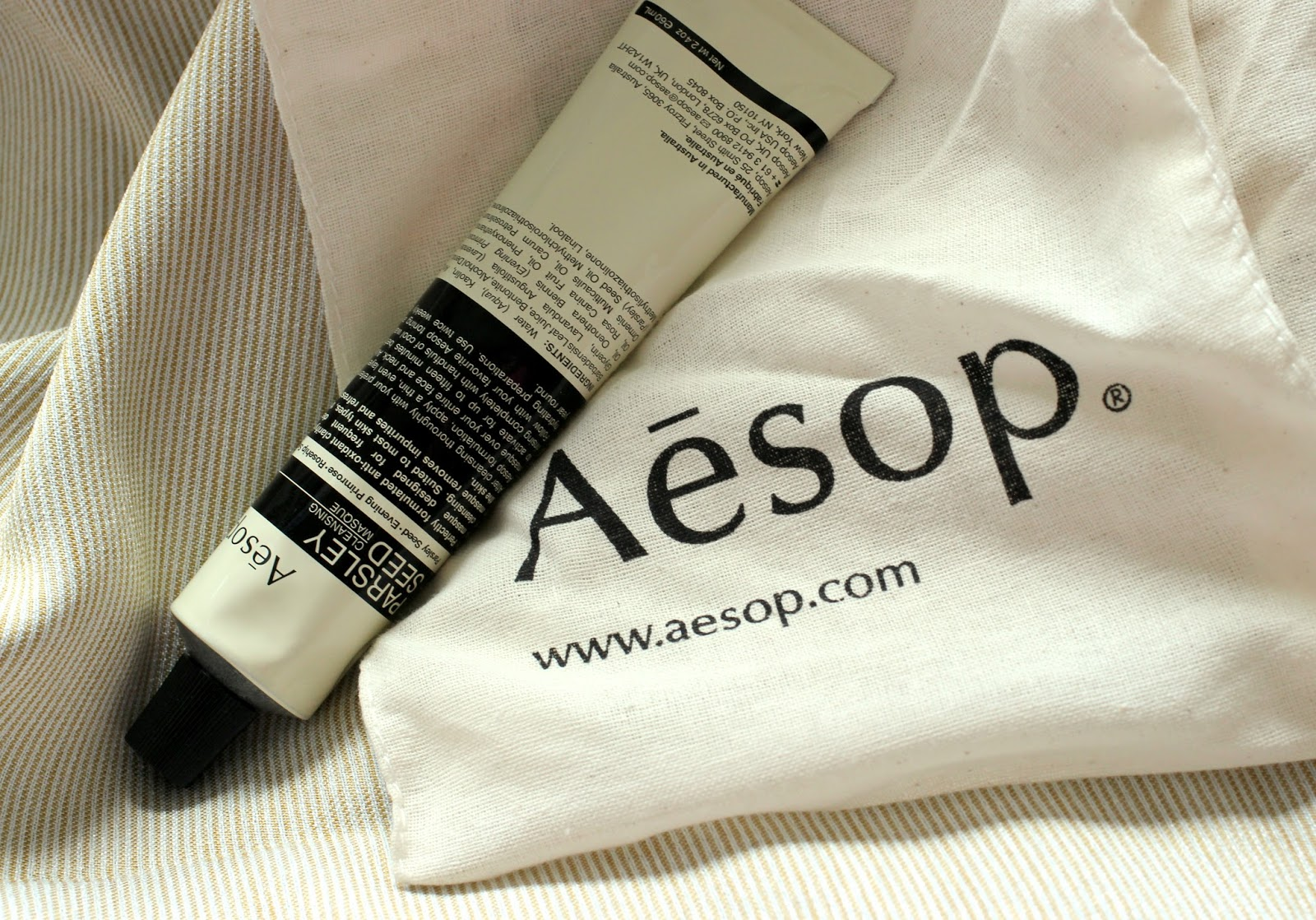 Aesop Parsley Seed Cleansing Masque Review