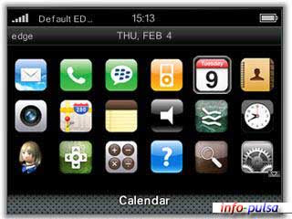 iPhone - BlackBerry Theme