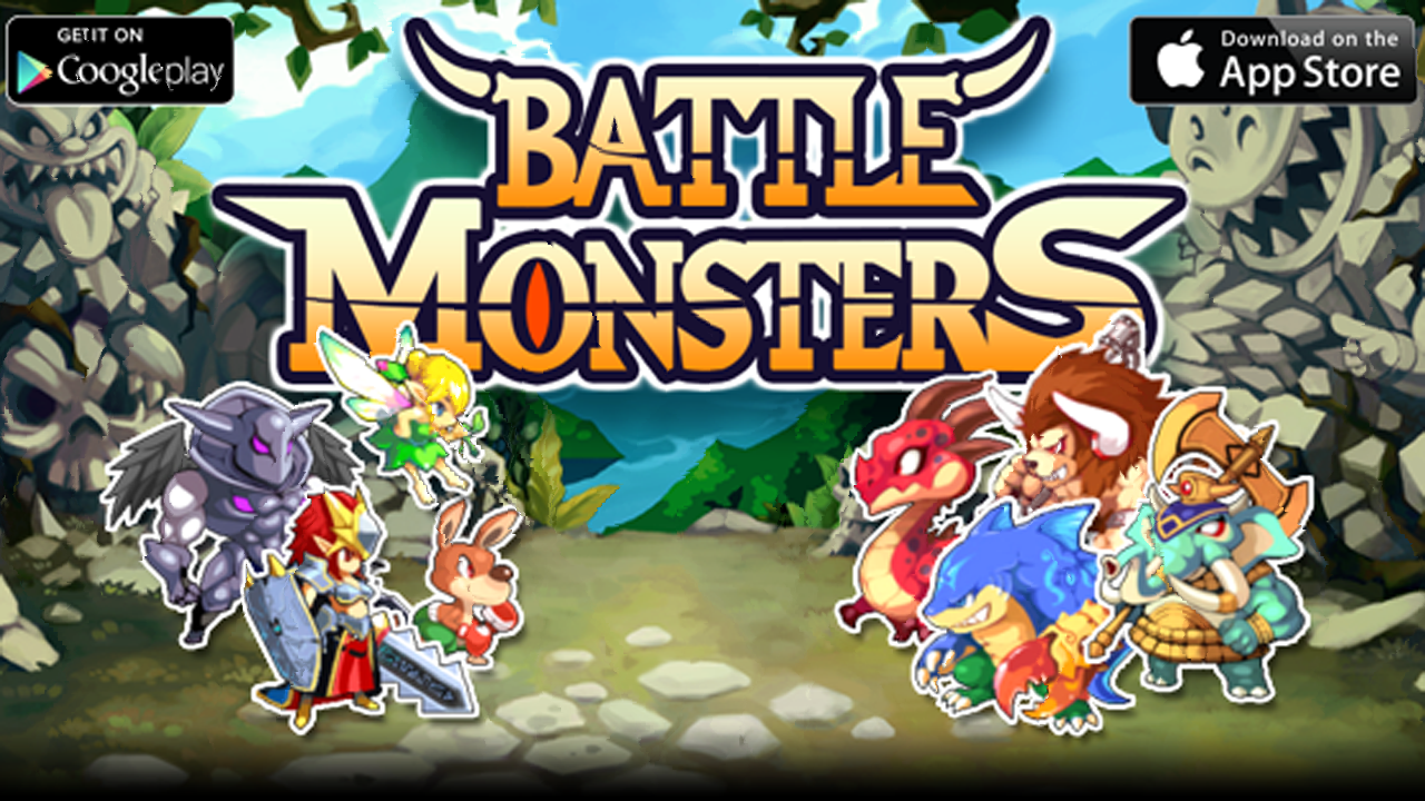 Battle Monsters Gameplay IOS / Android