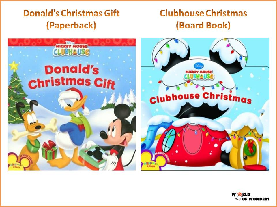 2 clubhouse christmas board book wow price 10 - Mickey Mouse Clubhouse Christmas