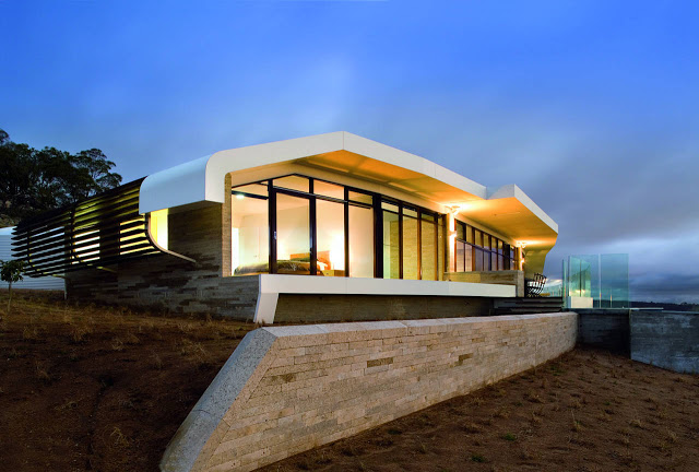 Modern architecture house design the cool crunch for Architecture design company in australia