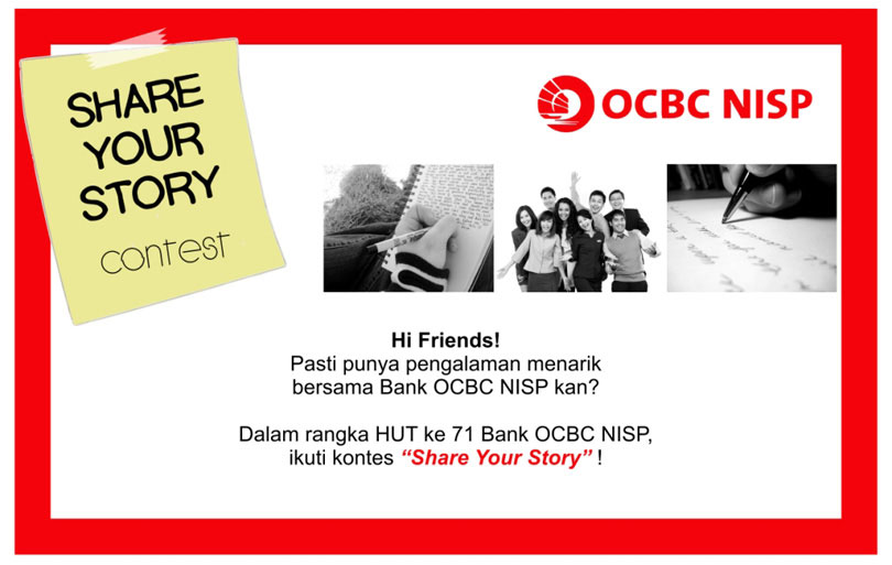 OCBC NISP Share Your Story Contest
