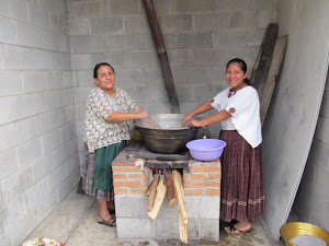 Sisters making wedding caldo at church