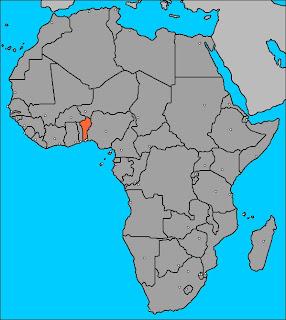 Pour situer le Bénin dans l'Afrique