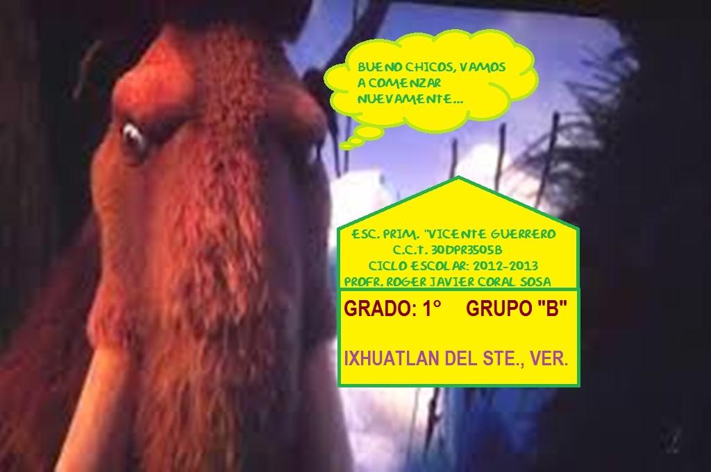 "ESC. PRIM. ""VICENTE GUERRERO"""