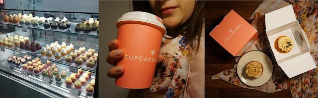 Káva a cupcakes z Cupcakekárny Brno