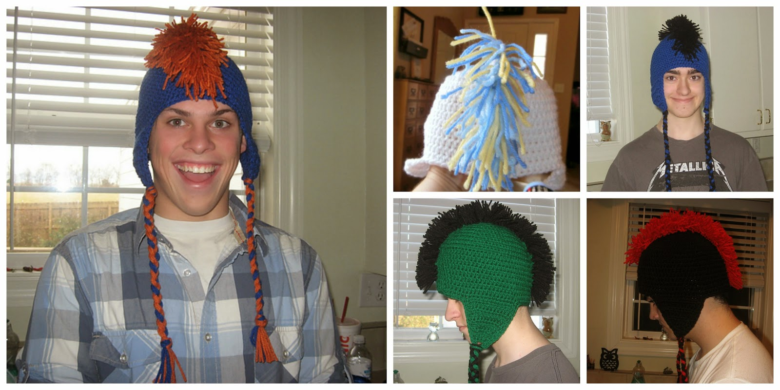 Tracys Crochet Bliss Crafting The Mohawk Hat