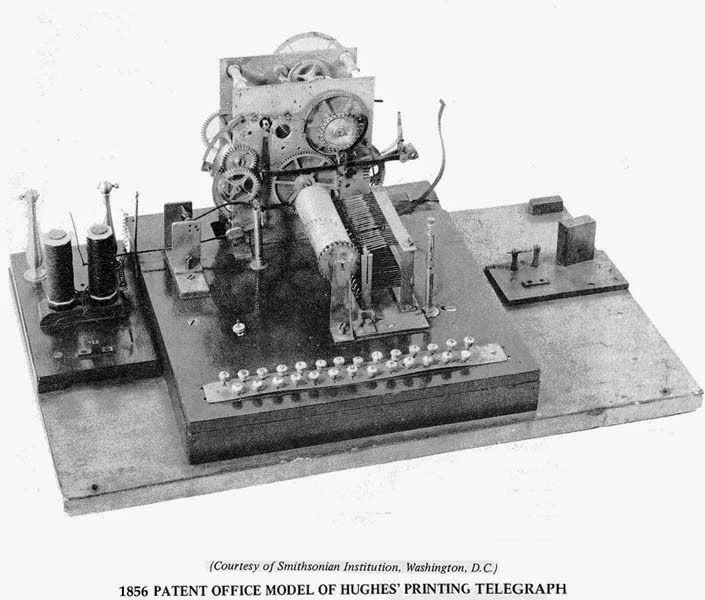who invented the telegraph machine